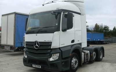 Mercedes-Benz Actros 2543 tractor unit