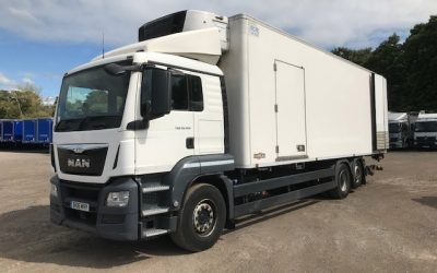 MAN TGS 320L refrigerated rigid