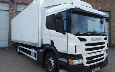 Scania P250 DB box rigid