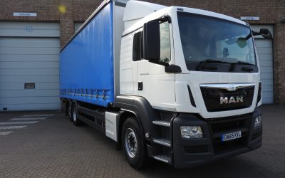 MAN TGS-320L curtainside
