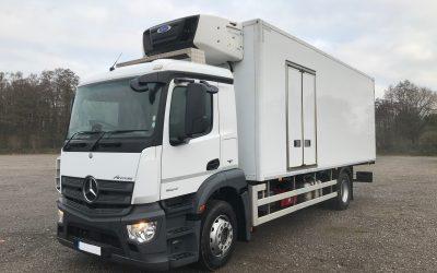 Mercedes-Benz Antos 18.24L refrigerated rigid