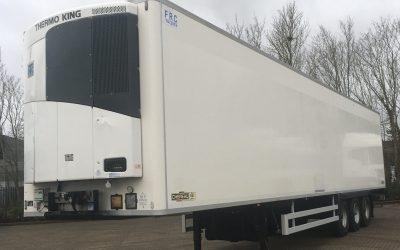 Chereau tri-axle fridge trailer 2013 – various available